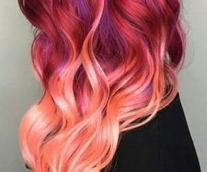color, hair, and moda image
