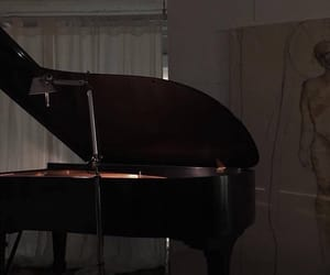 aesthetic, piano, and alternative image