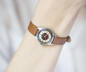 etsy, rare design watch, and black face watch image