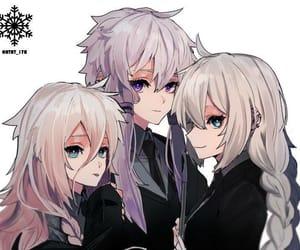 anime girl, blond hair, and yukari image