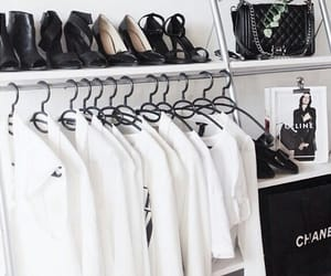 black and white, clothes, and style image