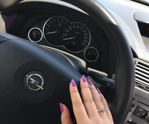 auto, nails, and opel image