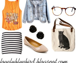 fashion, indie, and style image