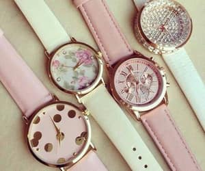 watch, fashion, and pink image