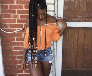 braids, summer, and melanin image