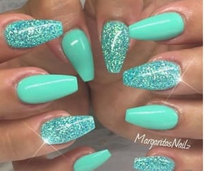 claws, glitter, and nails image