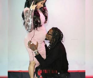 baby, offset, and pregnant image