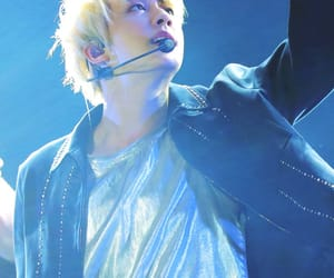 blond hair, jin, and bts image