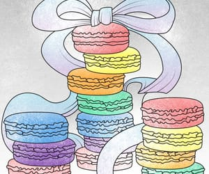 art, ‎macarons, and creative image
