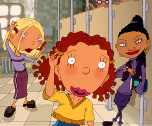 ginger, as told by ginger, and 90s image