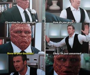 Fantastic Four, johnny storm, and ben grimm image