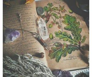 crystal, book, and magic image