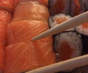 theme, sushi, and aesthetic image