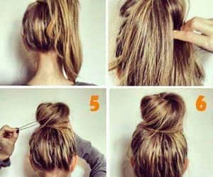 diy, hair, and styles image