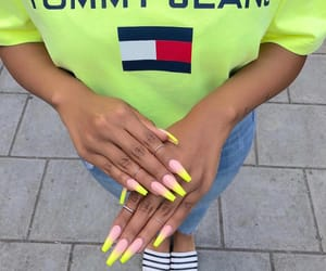 nails, style, and tommy hilfiger image