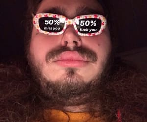 meme, post malone, and mood image
