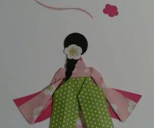 geisha, hand made, and handmade image