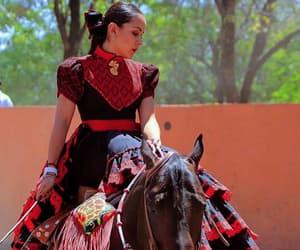 black, dress, and adelita image