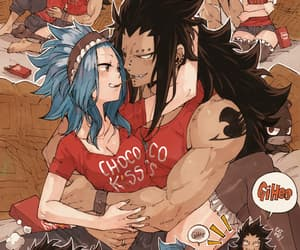 anime and gajeel image