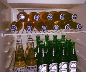 beer, drink, and corona image