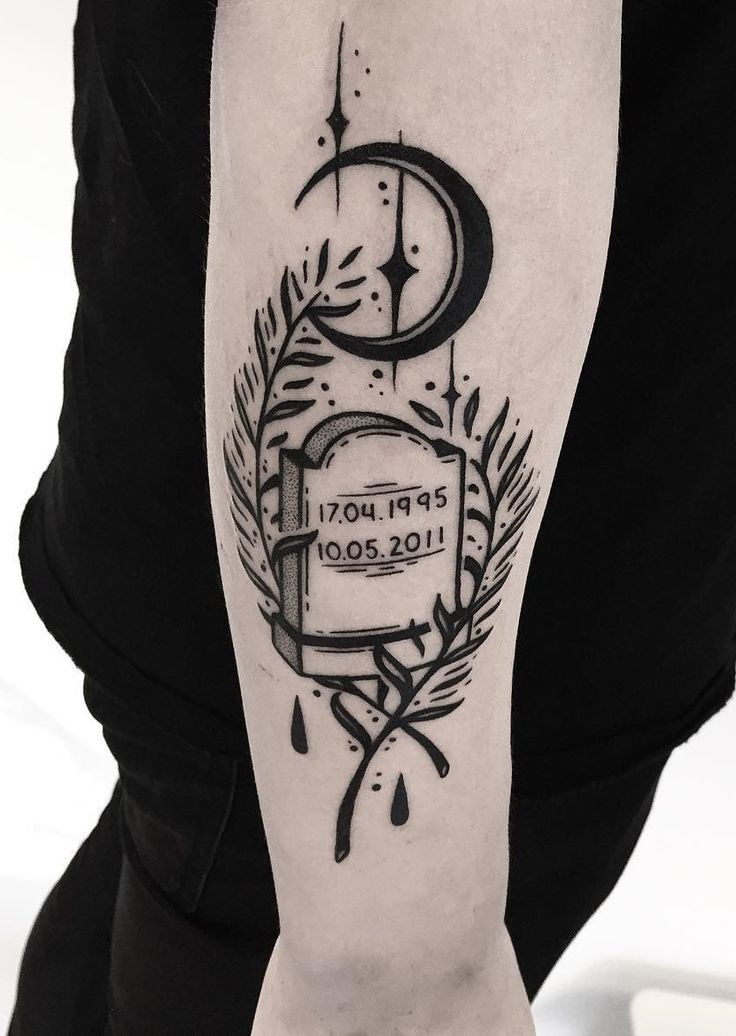 art, grave, and tattoo image