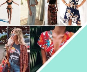 dates, fashion, and beach outfits image