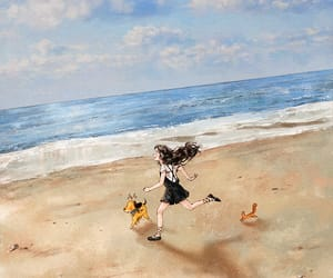beach, aeppol, and diary image
