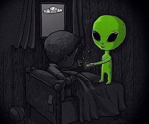 alien, alternative, and space image