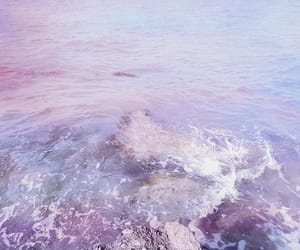 ocean, purple, and sea image