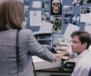 aliens, dana scully, and fbi image