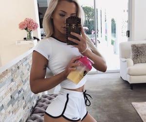 beautiful, model, and skinny image
