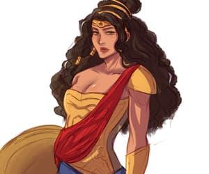 redesign, dc comics, and wonder woman image