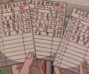 anime, Paper, and cards image
