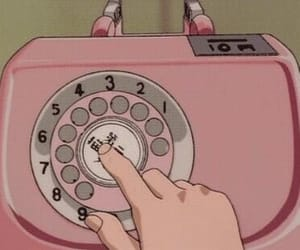 anime, hand, and number image