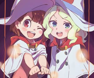 witch and little witch academia image