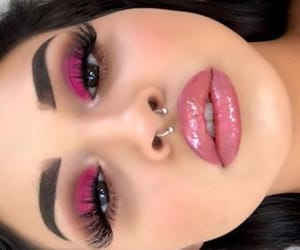 eyebrows, lashes, and lipgloss image
