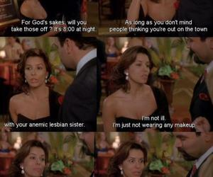Desperate Housewives, funny, and gabby image