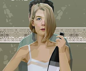 art, rosamund pike, and wow image