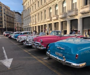 cars, cuba, and old image