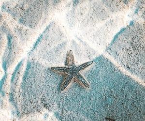 wallpaper, ocean, and stars image