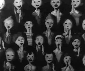 gif, creepy, and grunge image