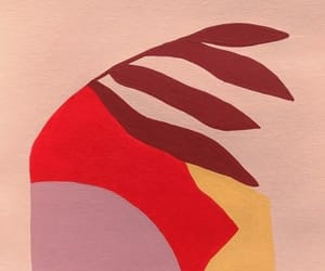 abstract, pink, and art image