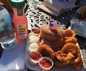 burger, eeuu, and food image