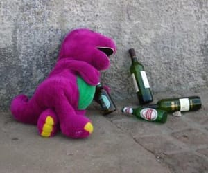 barney, drunk, and funny image