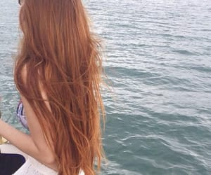 ginger, long hair, and my style image