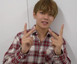 v, bts, and tae image