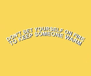 yellow, quotes, and aesthetic image