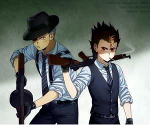 anime, tanaka, and nishinoya image