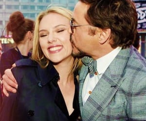 Scarlett Johansson, Marvel, and robert downey jr image