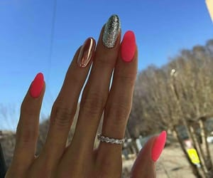 manicure, nails, and summer image